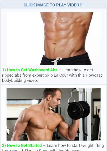 Free Bodybuilding Lesson