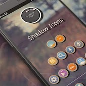 SHADOW THEME APEX/NOVA/ADW/GO