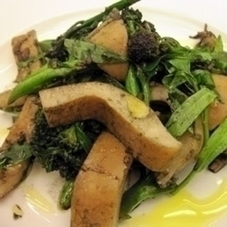 Warm Salad Of Braised Cuttlefish With Ink Vinaigrette