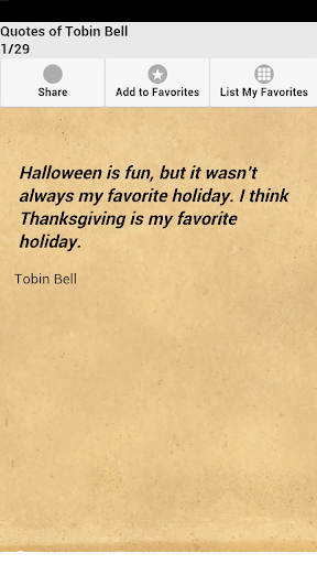 Quotes of Tobin Bell