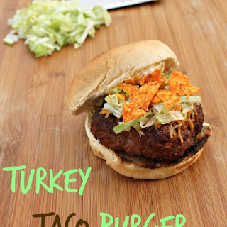 Turkey Taco Burgers.