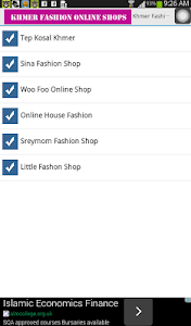 Khmer Fashion Online Shops screenshot 0
