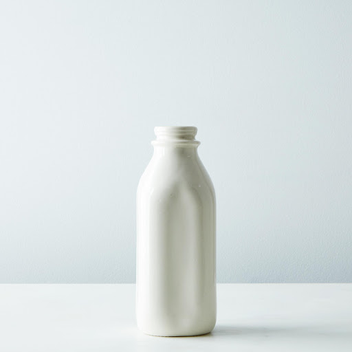 Porcelain Milk Bottle