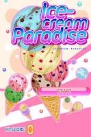 Screenshot of Ice Cream Paradise