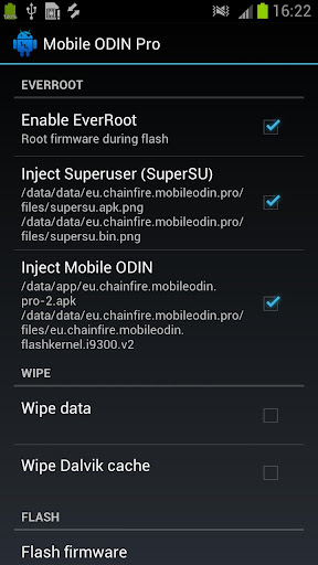 [root] Mobile ODIN Pro  screenshots 2