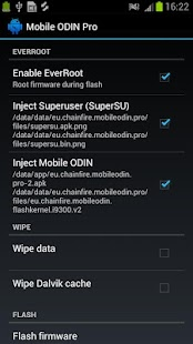 [root] Mobile ODIN Pro Capture d'écran