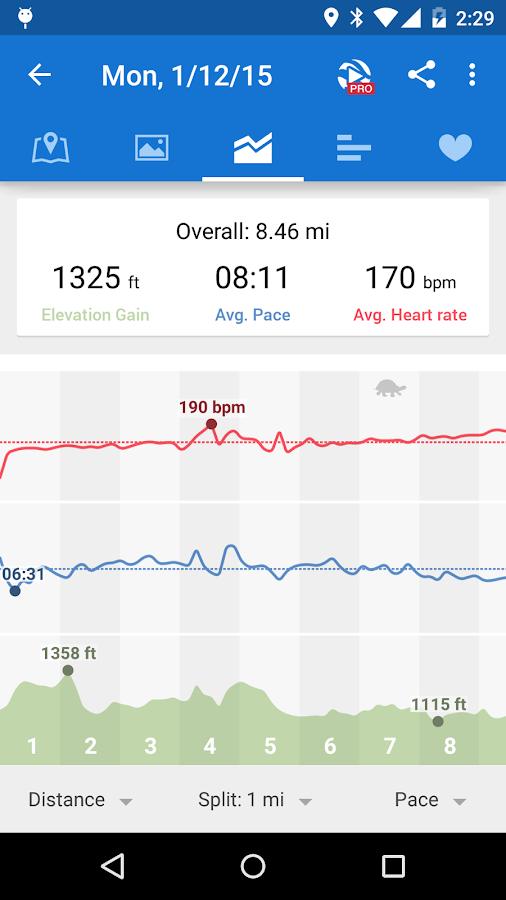 Runtastic Running & Fitness - screenshot