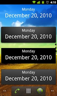 What's Today Calendar Widget - screenshot thumbnail