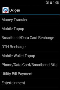 Recharges, TopUps and Payments - screenshot thumbnail