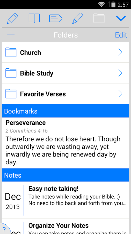 ESV Bible- screenshot