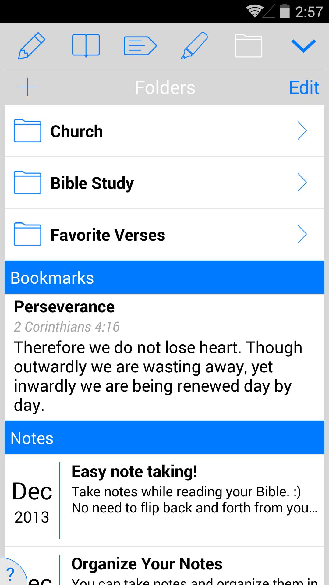 ESV Bible screenshot #4
