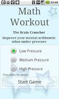 Screenshot of Brain Training - Math Workout