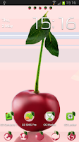 Screenshot of Go Launcher EX Theme Cherries