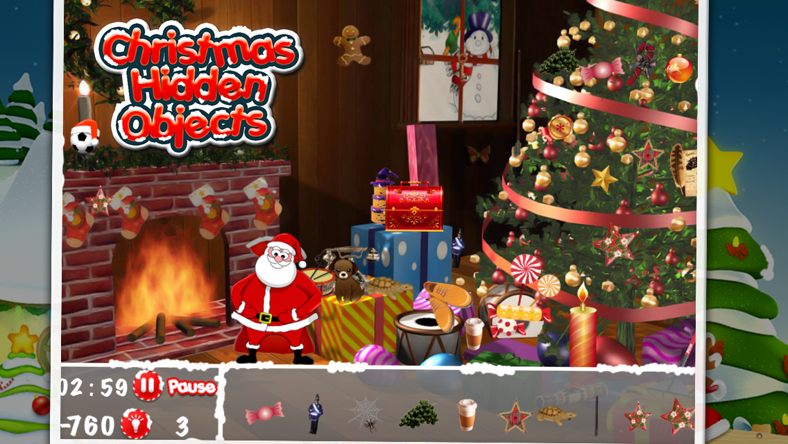 Christmas Hidden Objects 3- screenshot