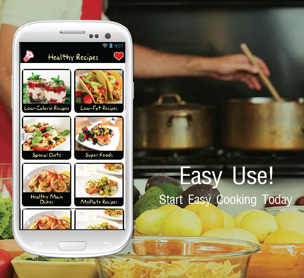 Top 3 diet recipes app to keep your diet plans updated name the top 3 ios and android recipe apps for the diet freaks who want forumfinder Gallery