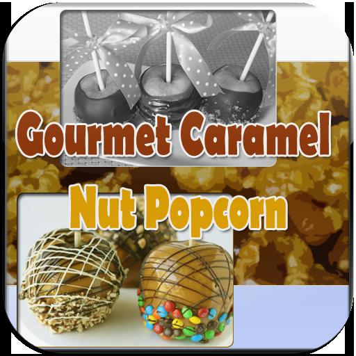 Gourmet Caramel Nut Popcorn LOGO-APP點子