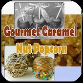 Gourmet Caramel Nut Popcorn