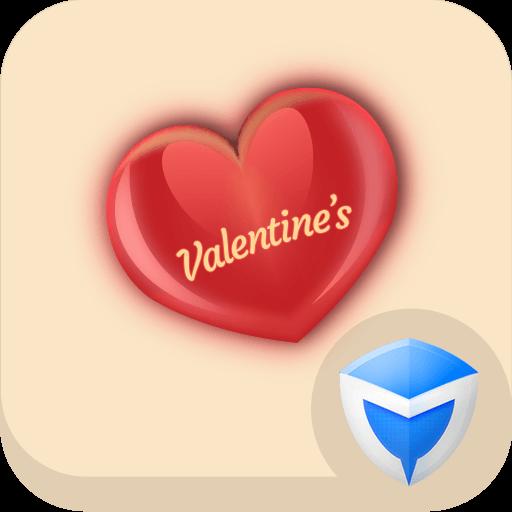 应用锁主题 - 情人心跳 工具 App LOGO-APP試玩