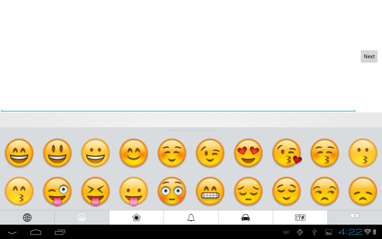 Emoji Keyboard-Emoticons,White - Android Apps on Google Play