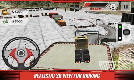 真正的卡车停车3D疯狂