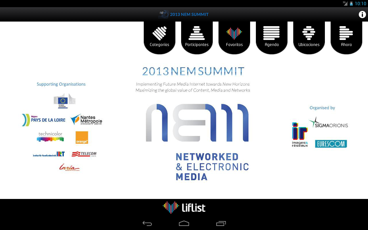 NEM Summit- screenshot