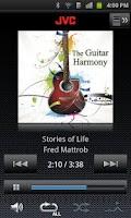 Screenshot of JVC Music Control