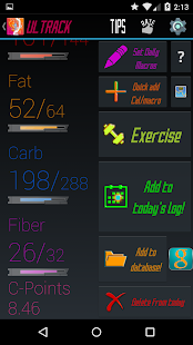 Calorie Counter Macros- screenshot thumbnail