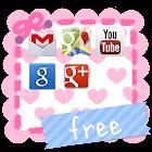 ラブリーフォルダ *girls* free icon