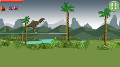 Dinosaur Scribble Run