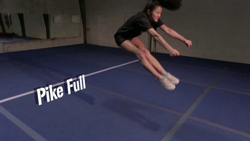 Cheer Jumps to Tuck Full Free