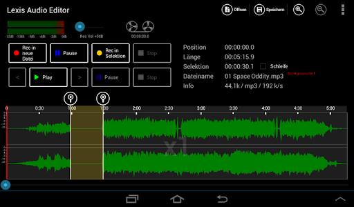 Lexis Audio Editor 1.0.70 screenshots 6