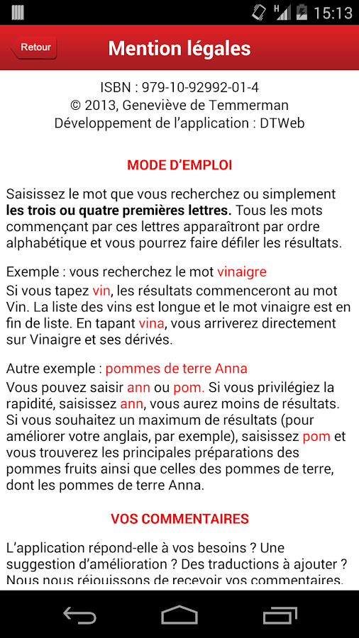 THE A-Z of French Food- screenshot