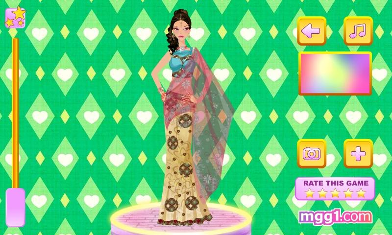 Indian Bride Dress Up - screenshot