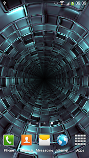 3D Tunnel Live Wallpaper 2