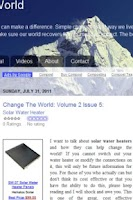 Screenshot of Change The World