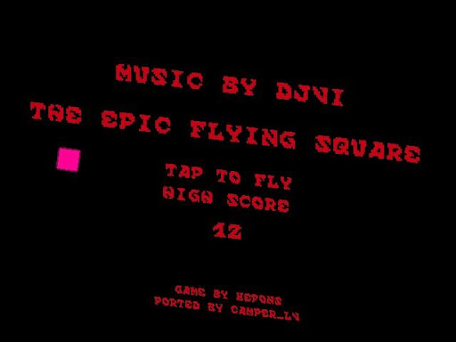 The Epic Flying Square