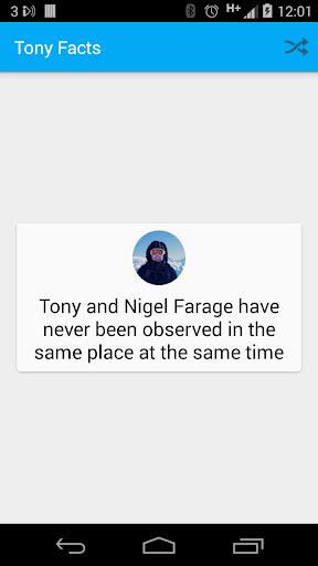 Tony Facts