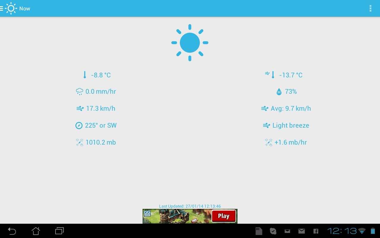 Home Weather Station - Cumulus- screenshot