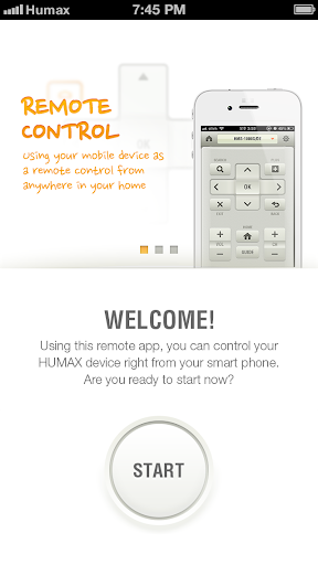 HUMAX Remote for Phone