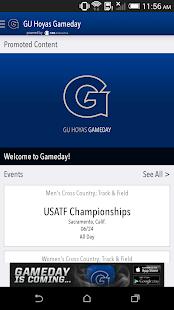 GU Hoyas Gameday LIVE - screenshot thumbnail