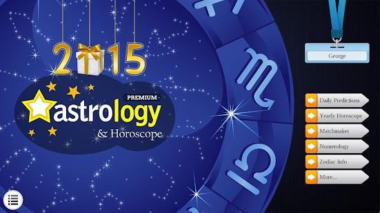 2015 Astrology & Horoscopes Lt - screenshot thumbnail