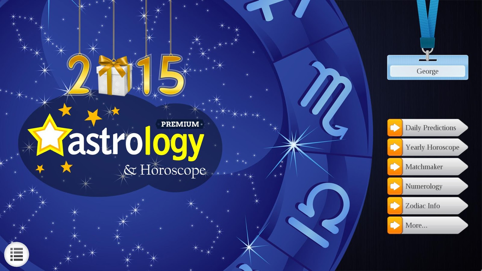 2015 Astrology & Horoscopes Lt - screenshot