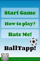 Screenshot of football game soccer juggle