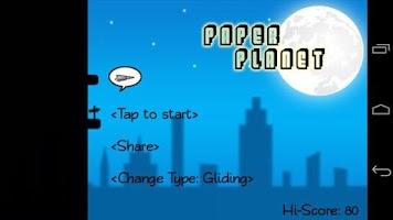 Screenshot of Paper Planet