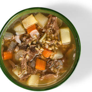 Oxtail and Barley Soup.