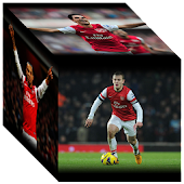 Arsenal 3D Cube Wallpaper