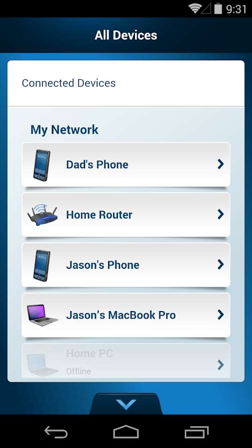 Linksys Smart Wi-Fi- screenshot