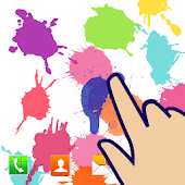 Splash Paint Live Wallpaper