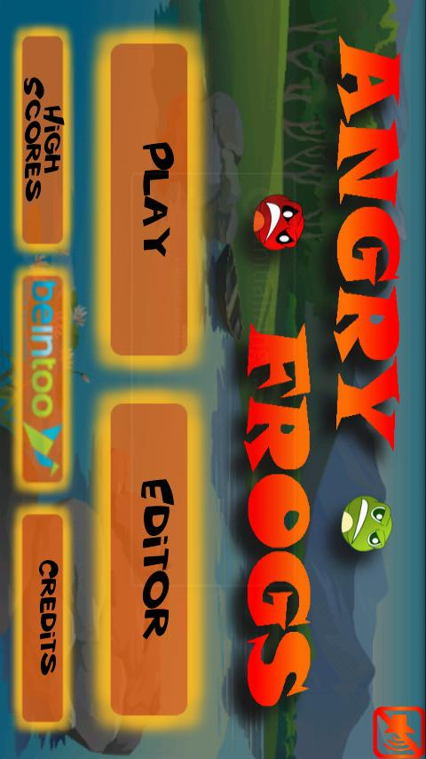 Angry Frogs- screenshot