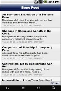 BoneFeed- screenshot thumbnail